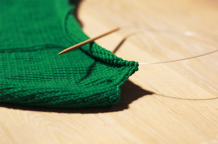 Green Knitting #2