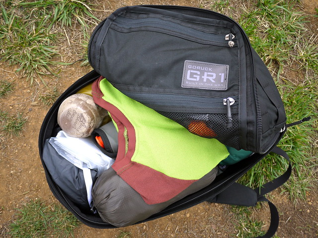 GORUCK GR1 for hiking
