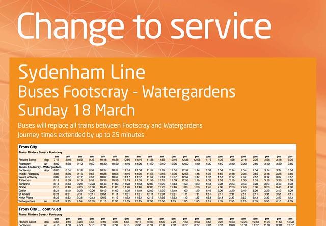 POTD: Whose bright idea was it to shut the Sydenham line on Grand Prix weekend?