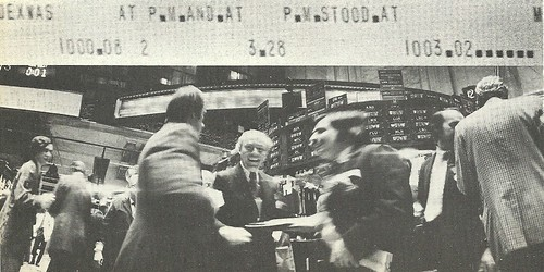 1972 - NYSE, NYC, NY(Dave Burnett from Life Magazine)