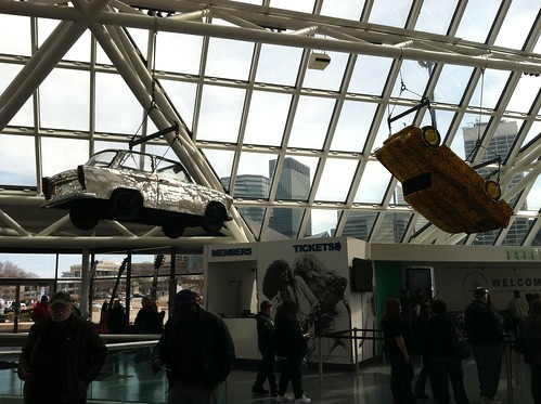 Cars at the Rock & Roll Hall of Fame