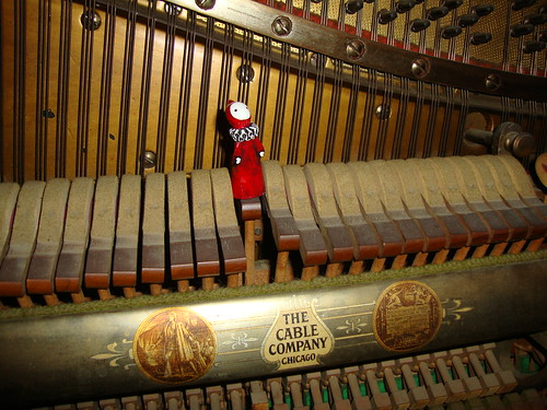 Poppet in piano-Vintage Hardware