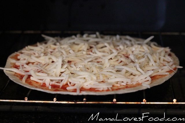 Thin and Crispy Tortilla Pizza