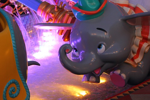 Dumbo at night - Storybook Circus