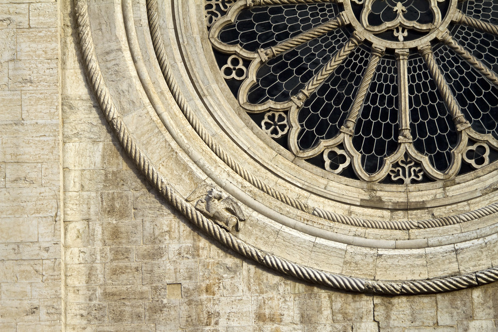 Duomo di Trento, Rosette Window #2 by storvandre