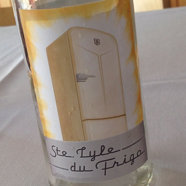 "Elegant, lovely Viognier ice wine from Domaine Pouillon ""St. Lyle du Frigo"""