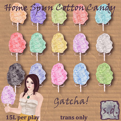 Home Spun Cotton Candy Gatcha