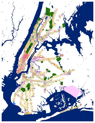 NYC land use within a quarter-mile of a subway exit