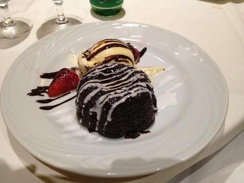 Molten Chocolate Cake - Fogo de Chao