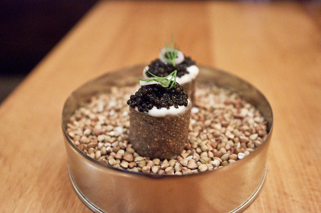 Torrisi - Caviar and Buckwheat