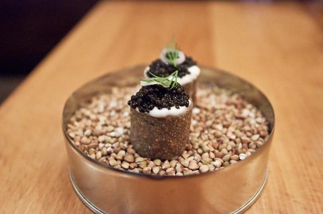 Torrisi - Caviar and Buckwheat