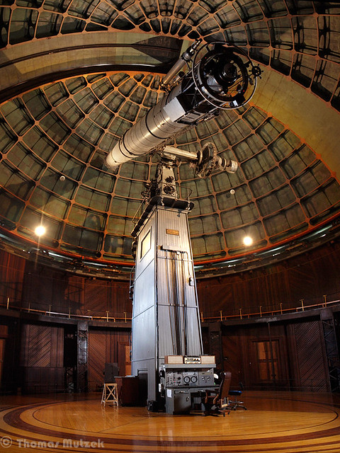Mount Hamilton Observatory, California