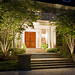 The S. garden in suburban MD with lighting designed by Outdoor Illumination.