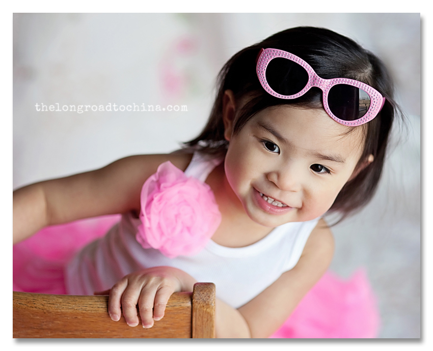 Hi Mommy Pink Ruffles and Sunglasses BLOG