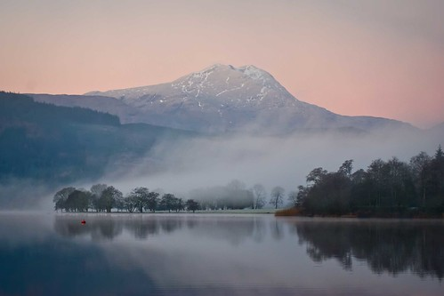 Ben Lomond from Loch Ard, Trossachs