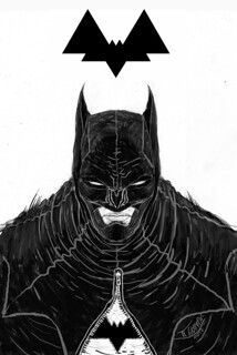 DC COMICS / BATMAN REDESIGN SKETCH