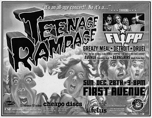 Teenage Rampage Ad #2