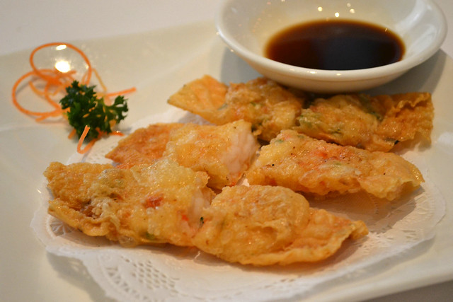Beancurd Skin Prawn Roll, Royal China
