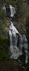 Upper Whitewater Falls Panorama 1