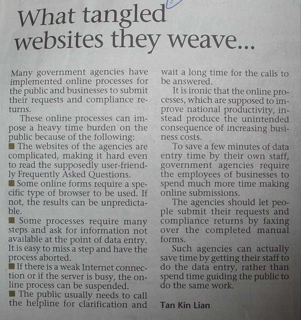 what tangled websites they weave The Sunday Times 12 Feb 2012