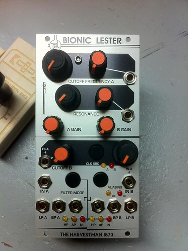 The Harvestman: Bionic Lester by Analogue Haven
