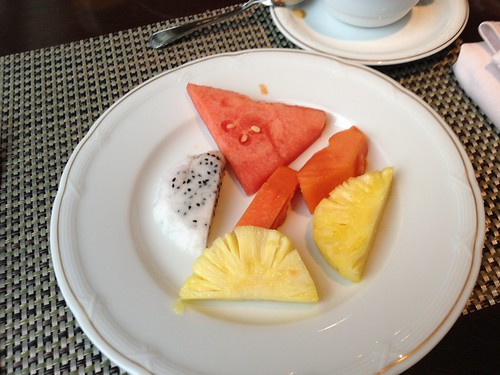 Fresh Fruit For Breakfast  - Epic Fireworks China Trip 2012