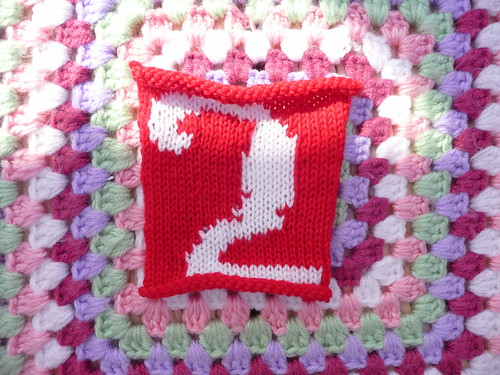 makingtracks (UK) Your Number '2' has arrived for our Olympic Blanket. Thank you!