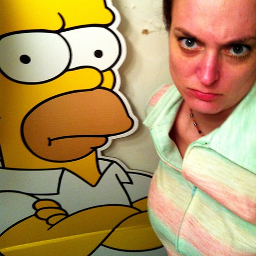 Homer is not happy with me!!