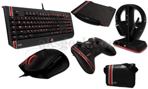 Razer Mass effect 3 product line