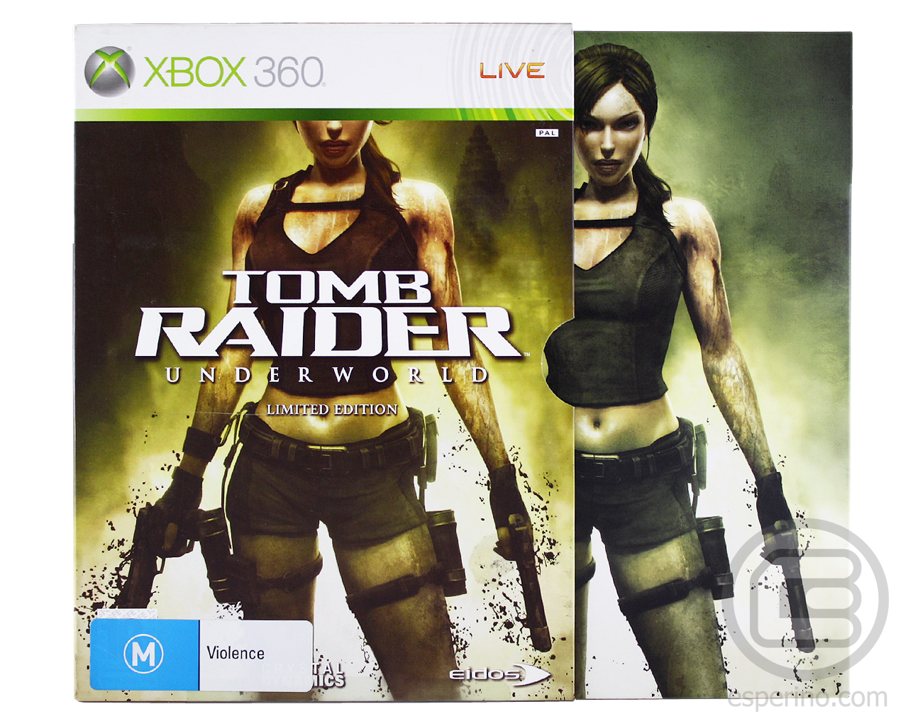 Tomb Raider Underworld Limited Edition Unboxing