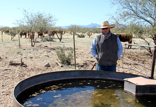 NRCS worked with the Kings to provide water tanks throughout the ranch, creating a reliable water source for the livestock.