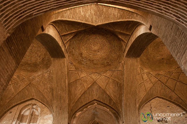 Inside Jameh Mosque - Esfahan, Iran