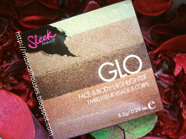 Sleek Glo Highlighter Peach Shimmer box