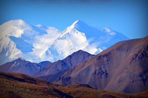 Denali - Mountain Landscape from Alaska