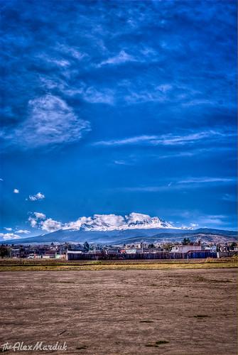 color mexico nikon camino carretera paisaje cielo nubes campo hdr toluca montañas nevado volcan exteriores