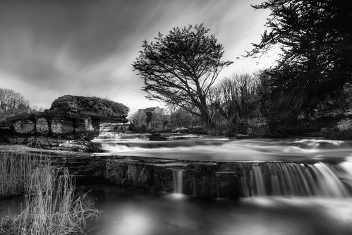 longexposure blackandwhite bw water monochrome mono waterfall falls rapids le rush cascades thecascades ennistymon inagh ennistimon riverinagh inaghriver