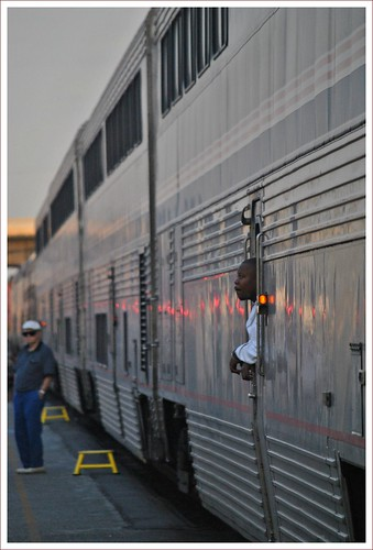 california travel station sunrise july amtrak sanbernardino southwestchief 2011