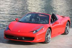 [フリー画像素材] 乗り物・交通, 自動車, フェラーリ, フェラーリ 458 イタリア ID:201202280000