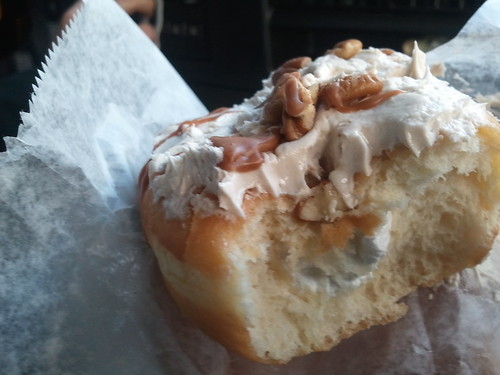 Maple pecan doughnut, Beiler's