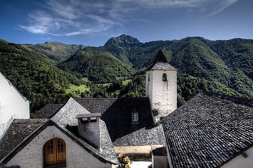 Village skyline