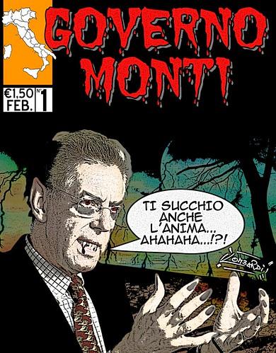 Monti Comic Style (n°1) by Giuseppe Lombardi