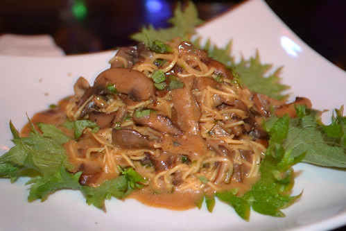 Yaki Soba Mushroom Ragout