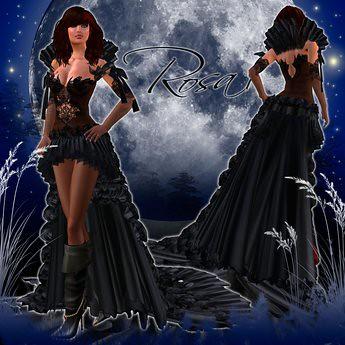 .:: ROSA II BLACK ::., 199 lindens by Cherokeeh Asteria