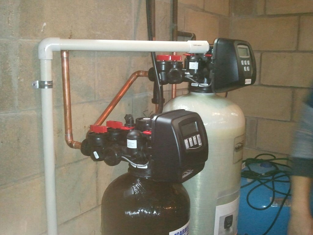 Well Water Softener and Iron Filter
