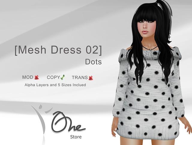 [Mesh Dress 02] Dots