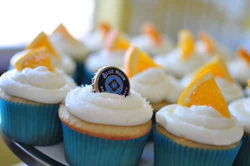 Blue Moon Cupcakes