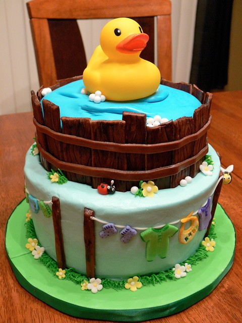 rubber duck baby shower cake followpics
