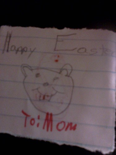 Troys Easter card 2012