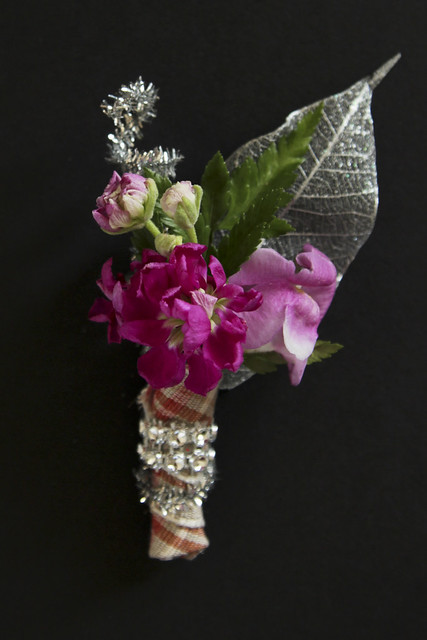 boutonniere - sparkly scots