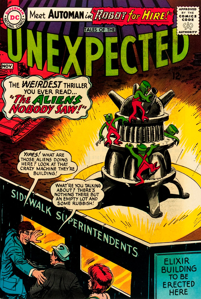 Tales of the Unexpected #91 (DC, 1965) Jack Sparling cover
